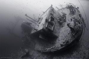 Cedar Pride Wreck by Iyad Suleyman
