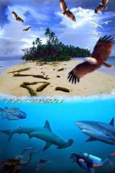 solomon islands Nik RS - COMPOSING photoshop by Manfred Bail