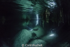 Cenote by Cyril Buchet