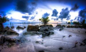 Bone fishing beach by Steven Miller