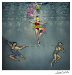Underwater circus by Lucie Drlikova