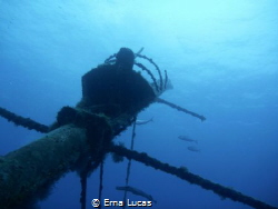 Ship ahoy - wreck just outside tabaiba, Canaries by Erna Lucas