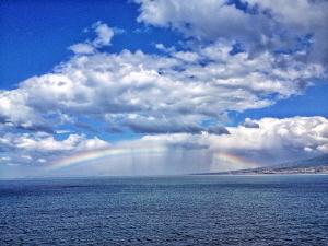 Rainbow & Vesuvio by Marco Gargiulo