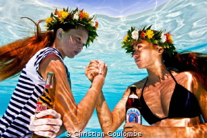 Tribute to Pierre & Gilles / Jean Paul Gaultier add - soa... by Christian Coulombe