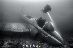 Jet Provost and Diver, Eccleston, UK by Nick Blake