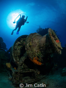 The Doc Polson wreck with Cathy Church by Jim Catlin