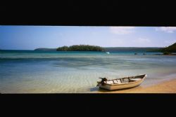 Beachside in Vava'u by Morgan Douglas