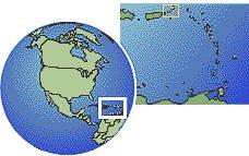 Virgin Islands U.S. map