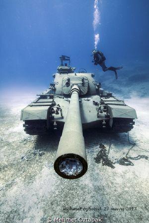 Kaş/Antalya -Turkey  Tank Wreck