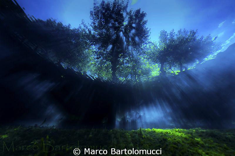 Posta Fibreno Lake Italy