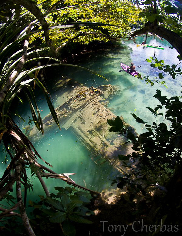 Japanese Sea Plane Wreck, Rock Islands, Palau