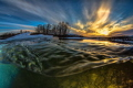 Feel the flow  In the river with great light and iceflakes around me - was a great day - hope you enjoy it