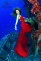 The Red Sea goddess woman
