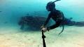 Freediving wreck @ Mabul Island, Malaysia
