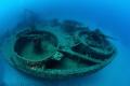 US Navy LST 349 wreck   Ponza Island   Italy