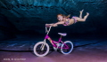 My crazy niece trying out for Underwater X-Games :)