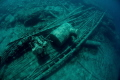 A view of the wreck of the  Alice G   Tobermory  Ontario