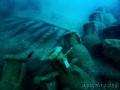 The Bou Ferrer shipwreck  in Villajoyosa.   Olympus E Pl5   Olympus ED 9 18mm