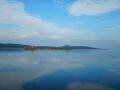 An island & coast view of Cunda island, Ayvalik, Turkey