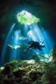 Diver in the Light - Mexico