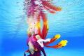 Underwater Cosplay:  Guilty Crown