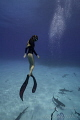 Competitive free diver Ashleigh