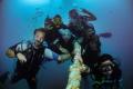 Divers friends