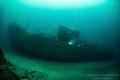 German WW2 Wreck Jan Hubert, it is 55 meter long and the picture is shot on 50 meter depht.
