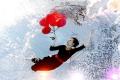 Air balloons...