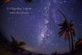 Milky Way with shooting Star, Isla Lobos México