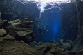 Diving in Silfra/Iceland