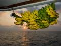 Sunset Indian Ocean on liveaboard
