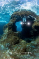 Diver in El Hierro .
