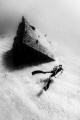 Diver on El Vencedor Shipwreck