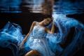 feminine blue Model: Maria Nennstiel Fotograf: Christian Zink