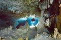 down the line, cave Otoch Ha, Mexico