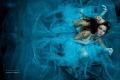 BLUE ... underwater model fantasy photography