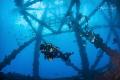 Oil Platform with Diver  Plataforma Tiburon  M xico