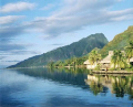Overwater Bungalows-Moorea