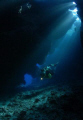 Awesome dives in St Johns caves