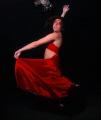Human Spanish Dancer. White Balance (only) through photoshop.