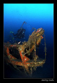 Skeleton. Torpedo boat S-31. Depth 65 m.