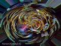 Pink anemone in whirl pool.  Inspired by strong current encountered during my dive in Mainit dive ste, Anilao, Batangas.