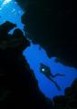 The cave- Ras Mohamed- Shar el Sheik Nikon D100 , 10,5 lens, No strobo