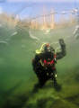 A shot taken during my first diving under ice. I think, that I got hooked.. ;-)