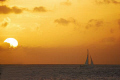 Back from Bonaire sunsets and sailboats lost in the horrizon