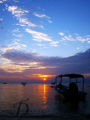 Lovely Sunset @ Perhentian Island, Malaysia. Capture by Canon G9