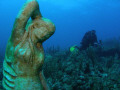 photographer luis in mermaid point dive site at parguera,,PUERTO RICO