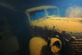 This was shot inside the Hoki Maru at 142'  side shot of Japenese Staff car from WWII