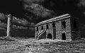 This is an abandonded lighthouse and station located at Boka Spelunk , Bonaire, NA.